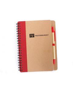 Notatbok ECO med penn