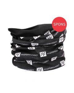 RPET Hals-/hodeplagg sort - pakke á 10 stk