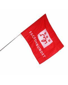 Paradeflagg m /Teleskostang
