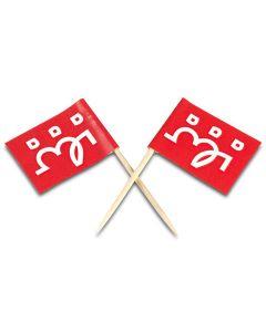 Logo flagg 50pk