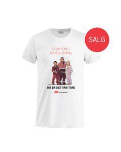 T-skjorte Valg - hvit