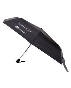 Sammenleggbar paraply med refleksstropp